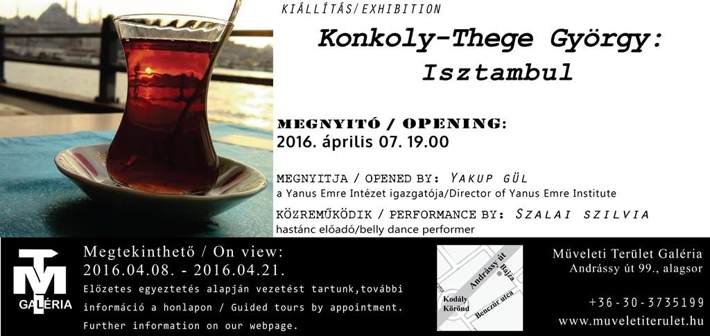 Konkoly-Thege György: Isztambul / Megnyitó